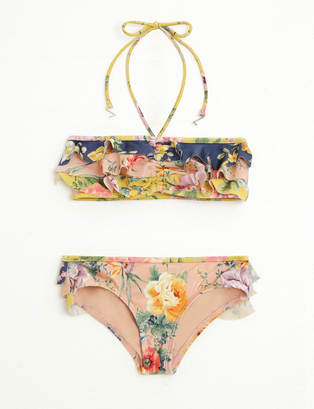 Zinnia Frill Bandeau Bikini