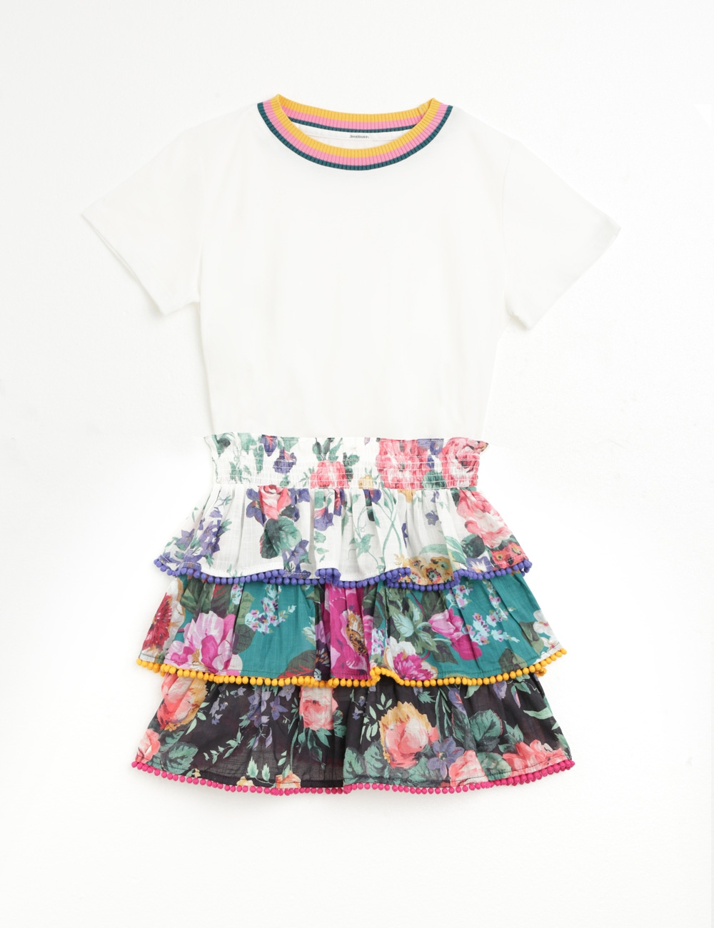 Allia Tiered Skirt