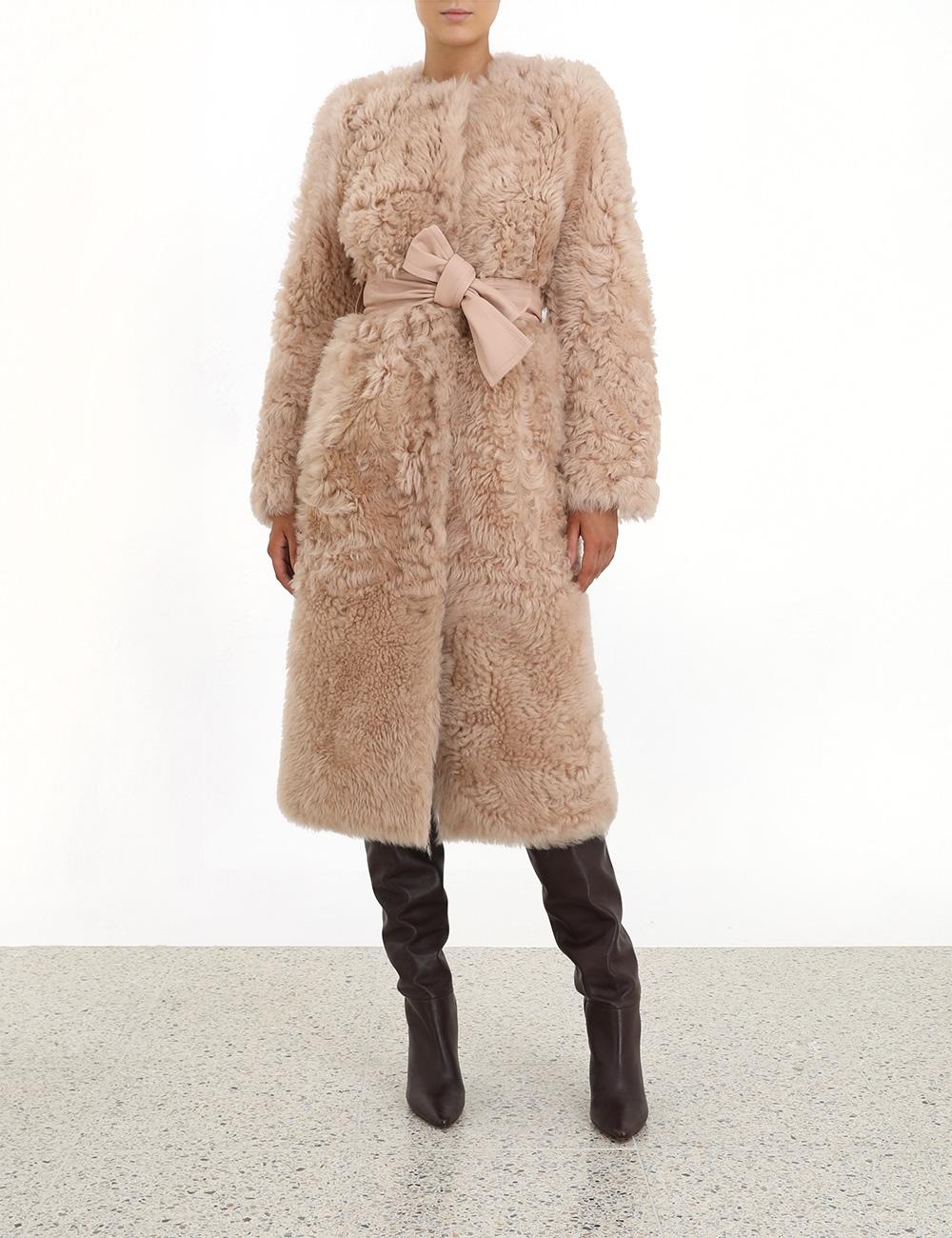 Resistance Shearling Coat