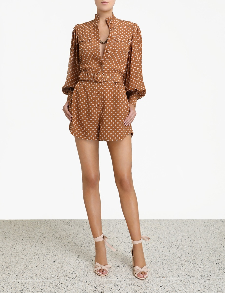 Espionage Utility Playsuit