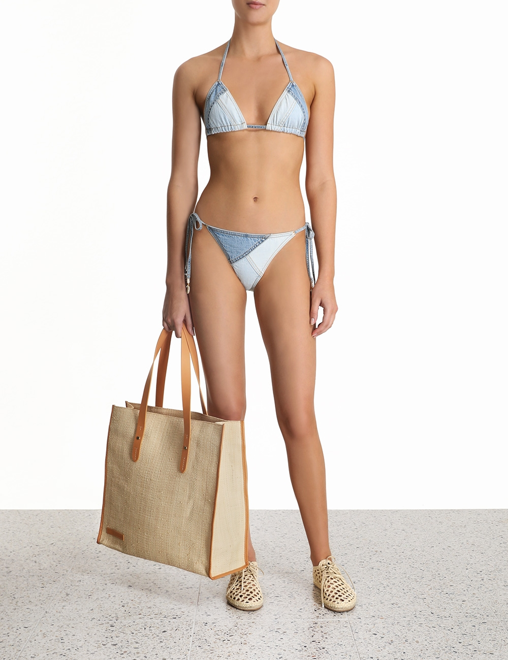 Edie Patchwork Bikini