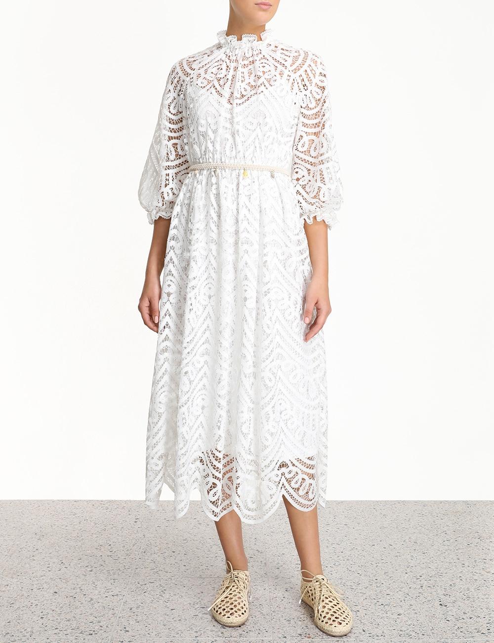Bonita Battenburg Long Dress