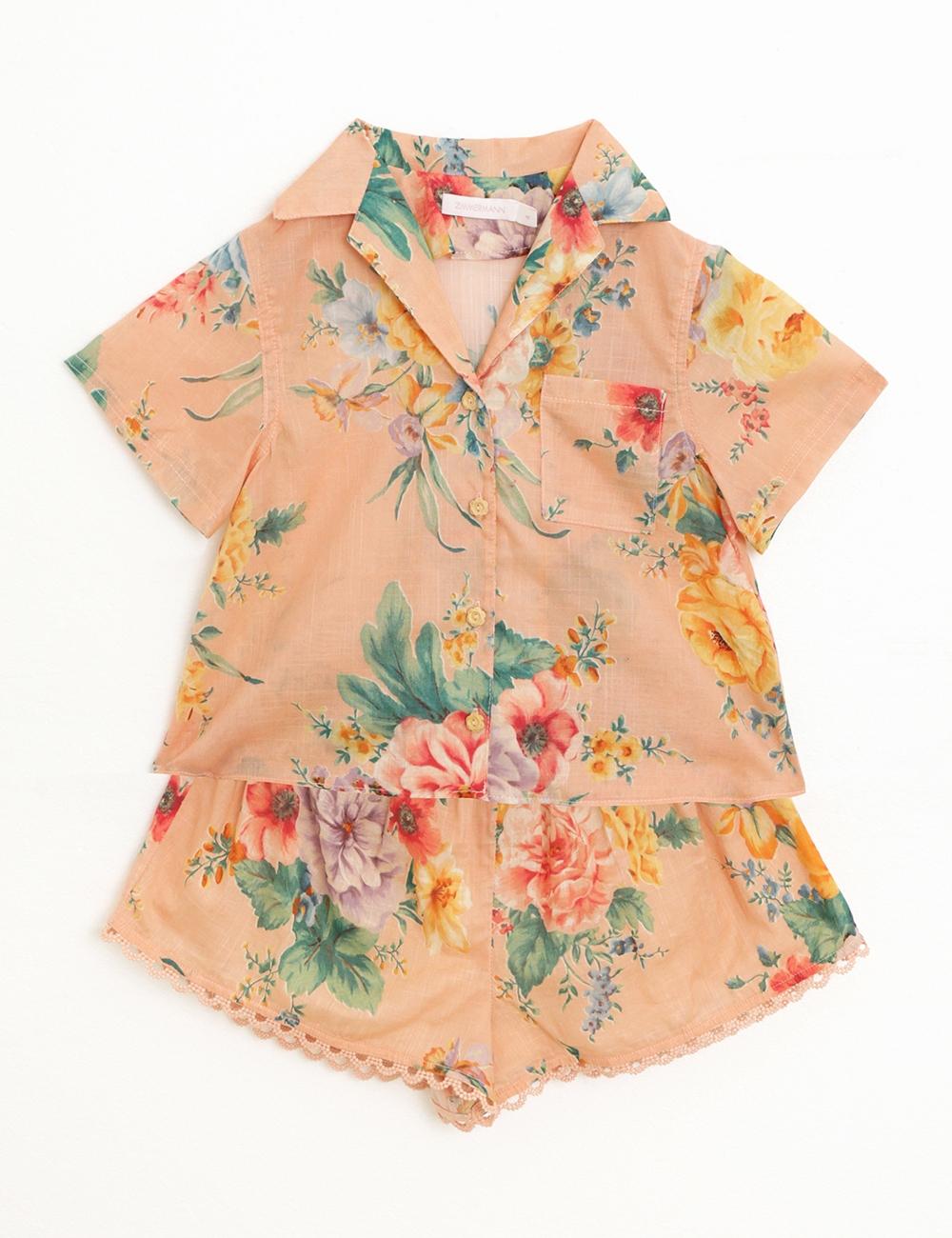 Zinnia Beach Shirt