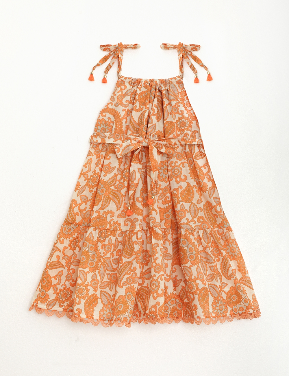 Peggy Tie Shoulder Bow Dress