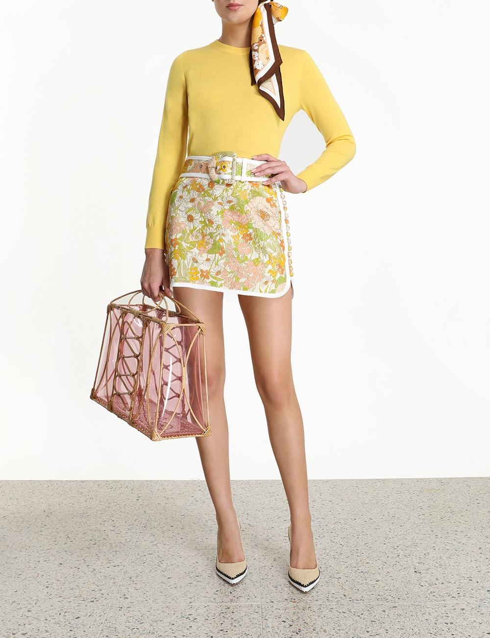Super Eight Mini Skirt