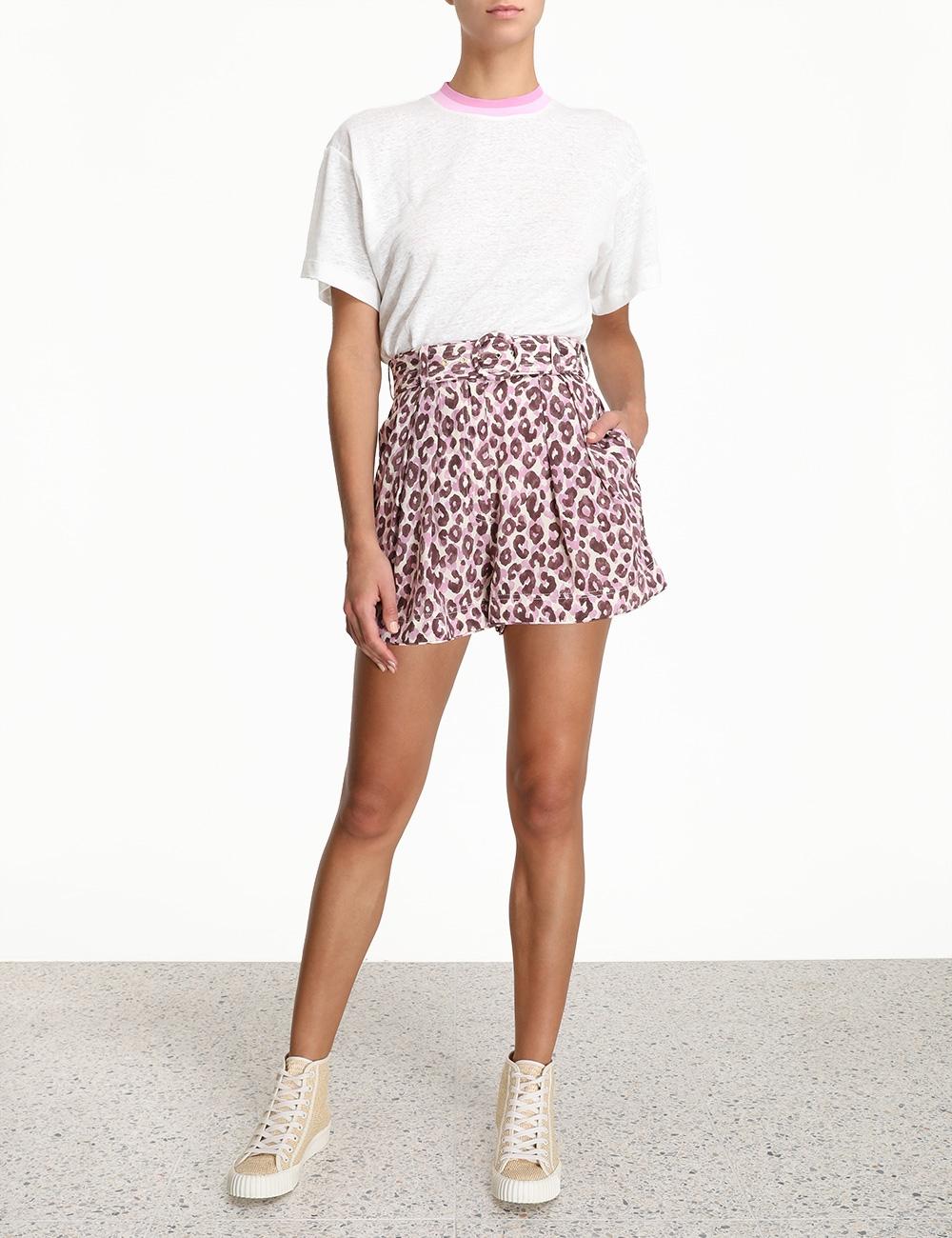 Silk Safari Shorts