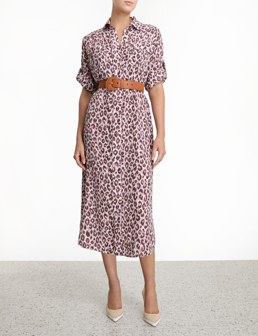 Silk Safari Midi