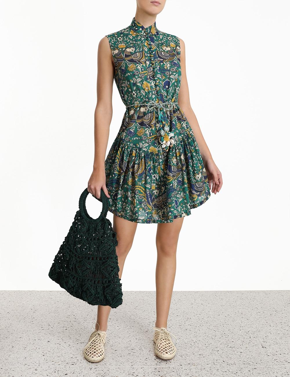 Edie Drop Waist Short Dress