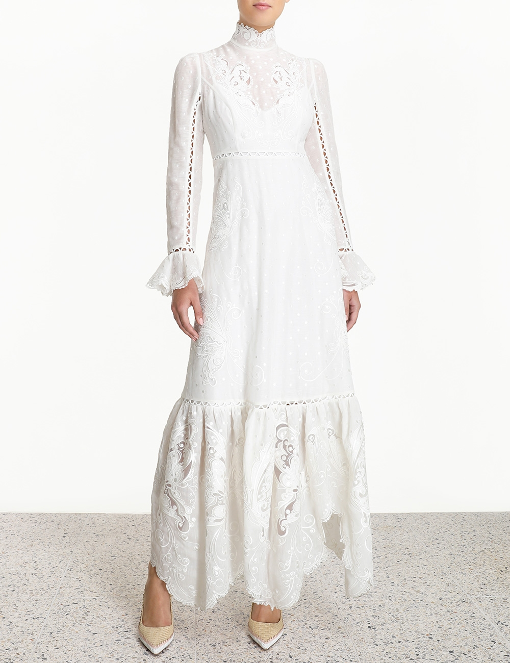 Super Eight Embroidered Maxi