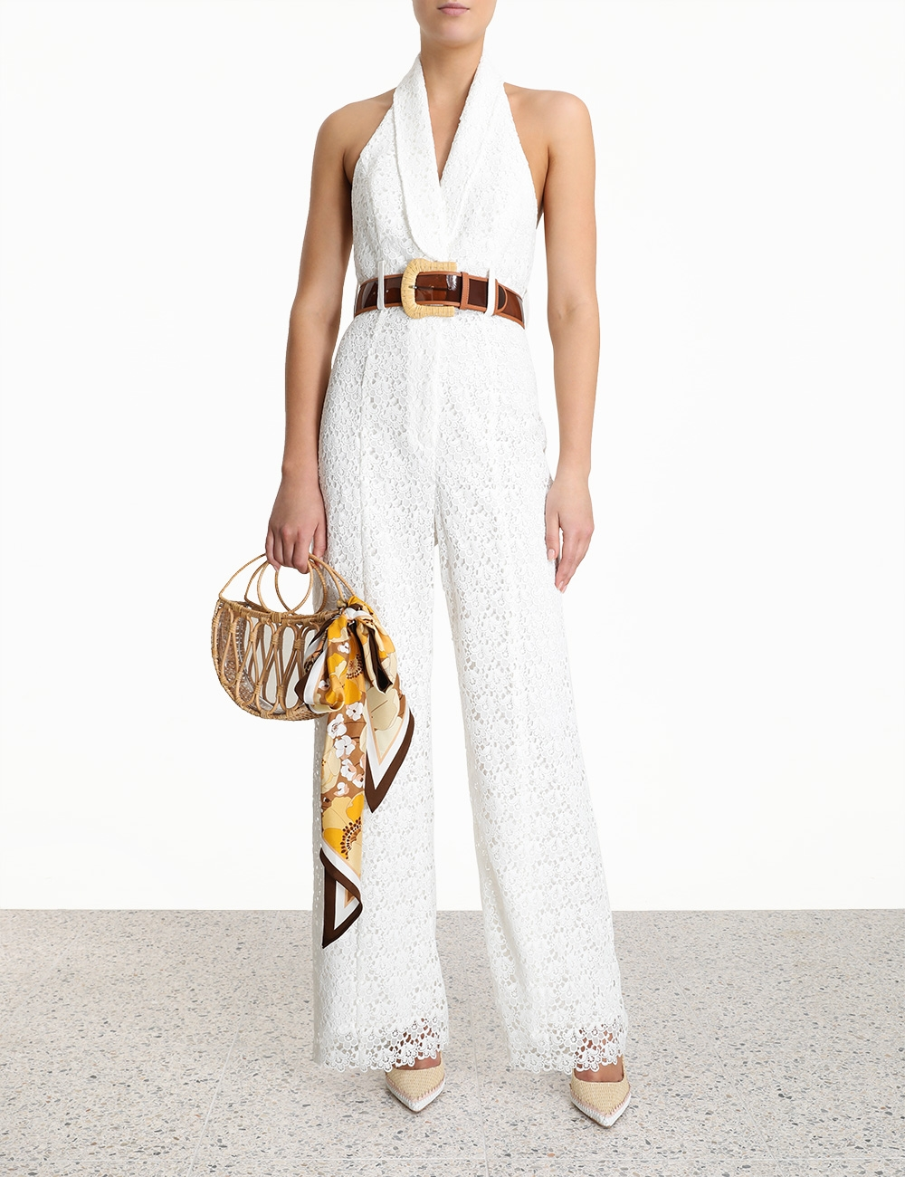Super Eight Lace Jumpsuit