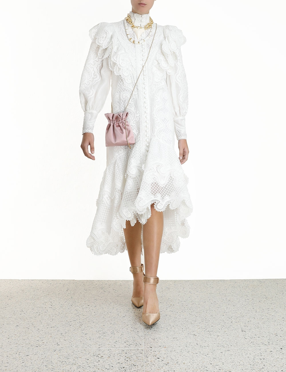 Glassy Wave Midi Dress