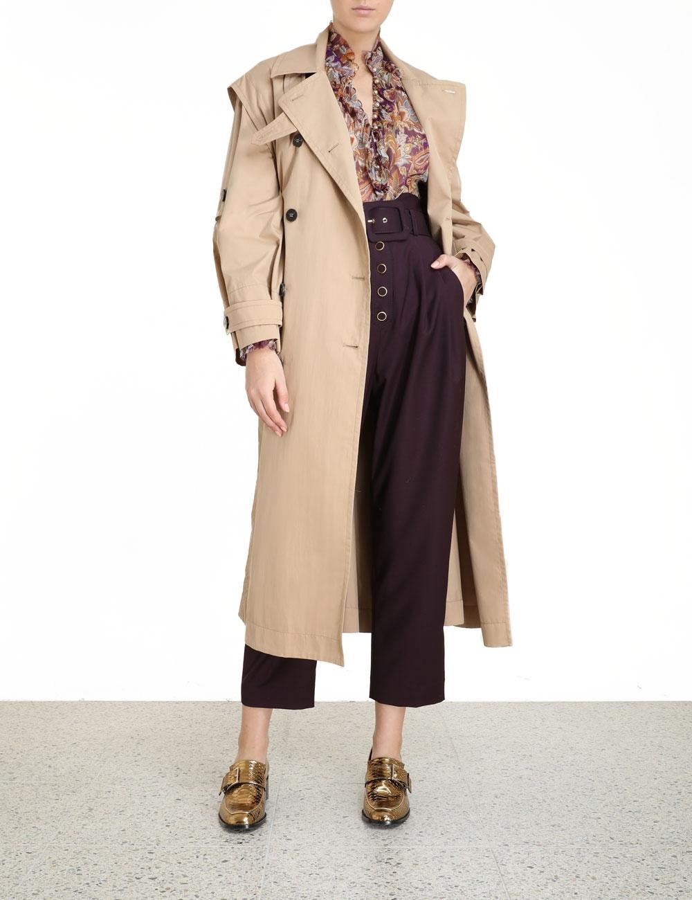 Ladybeetle Trench Coat