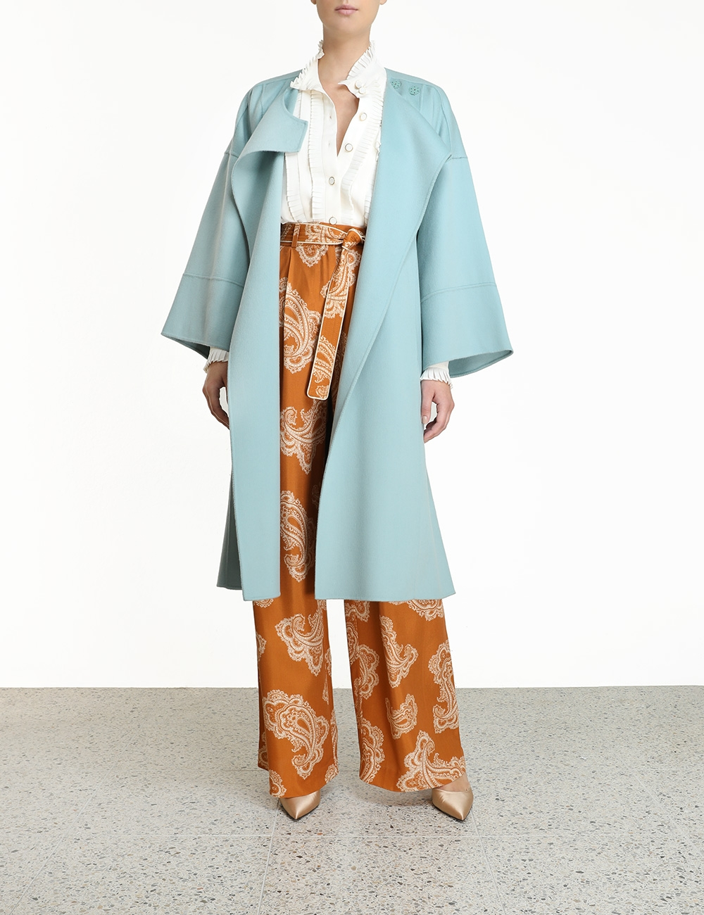 Glassy Blanket Coat