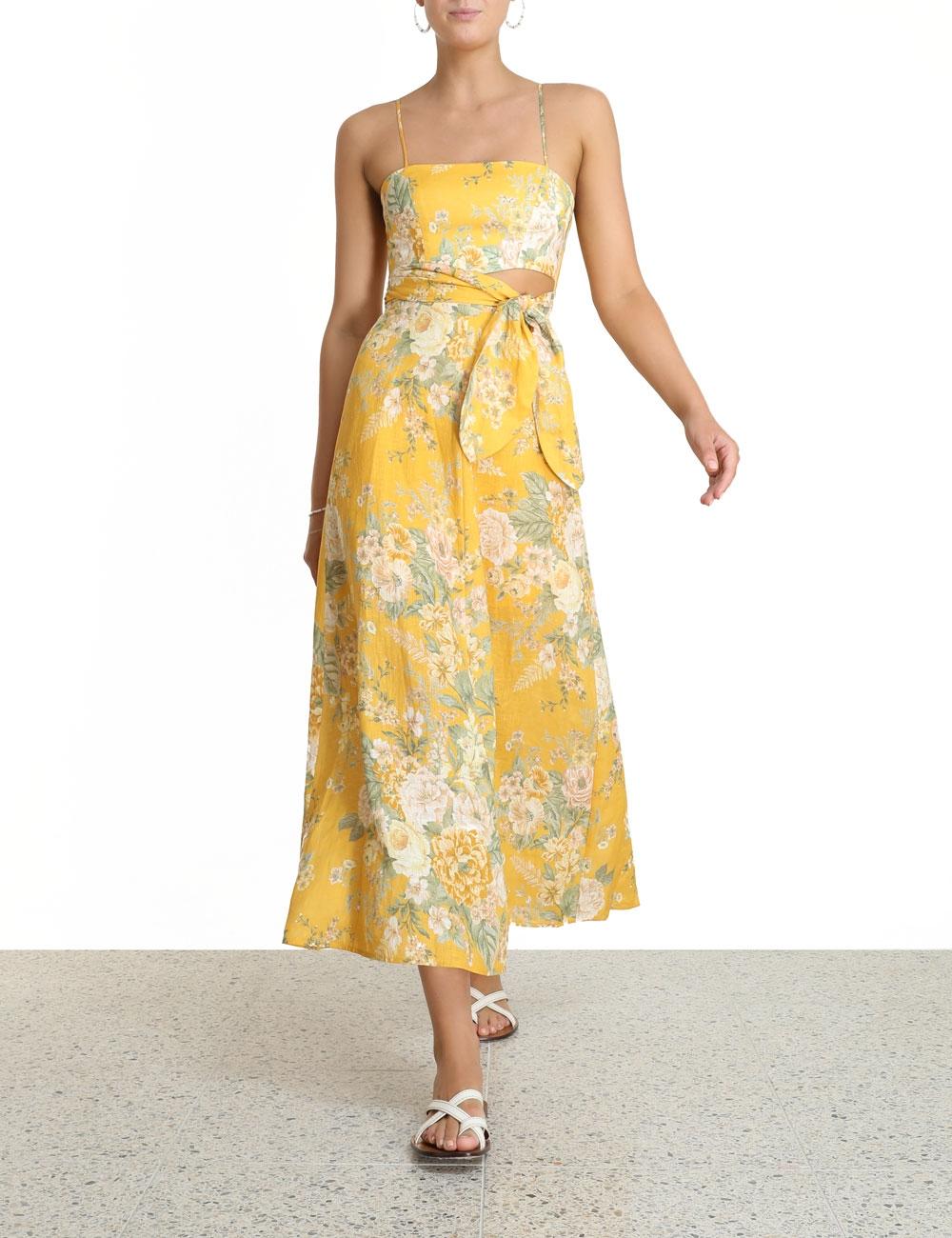 Amelie Scarf Tie Dress