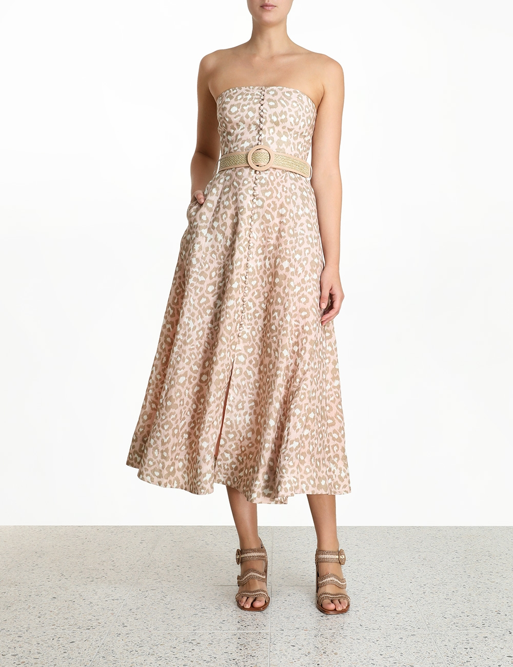 Carnaby Bustier Midi Dress