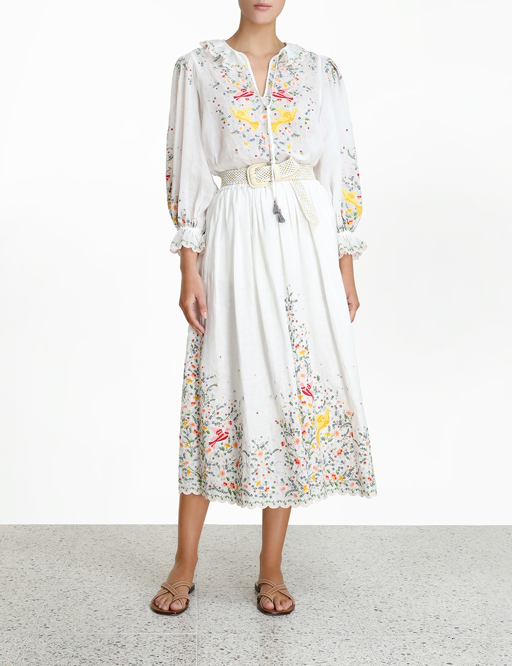 Carnaby Embroidered Bird Top