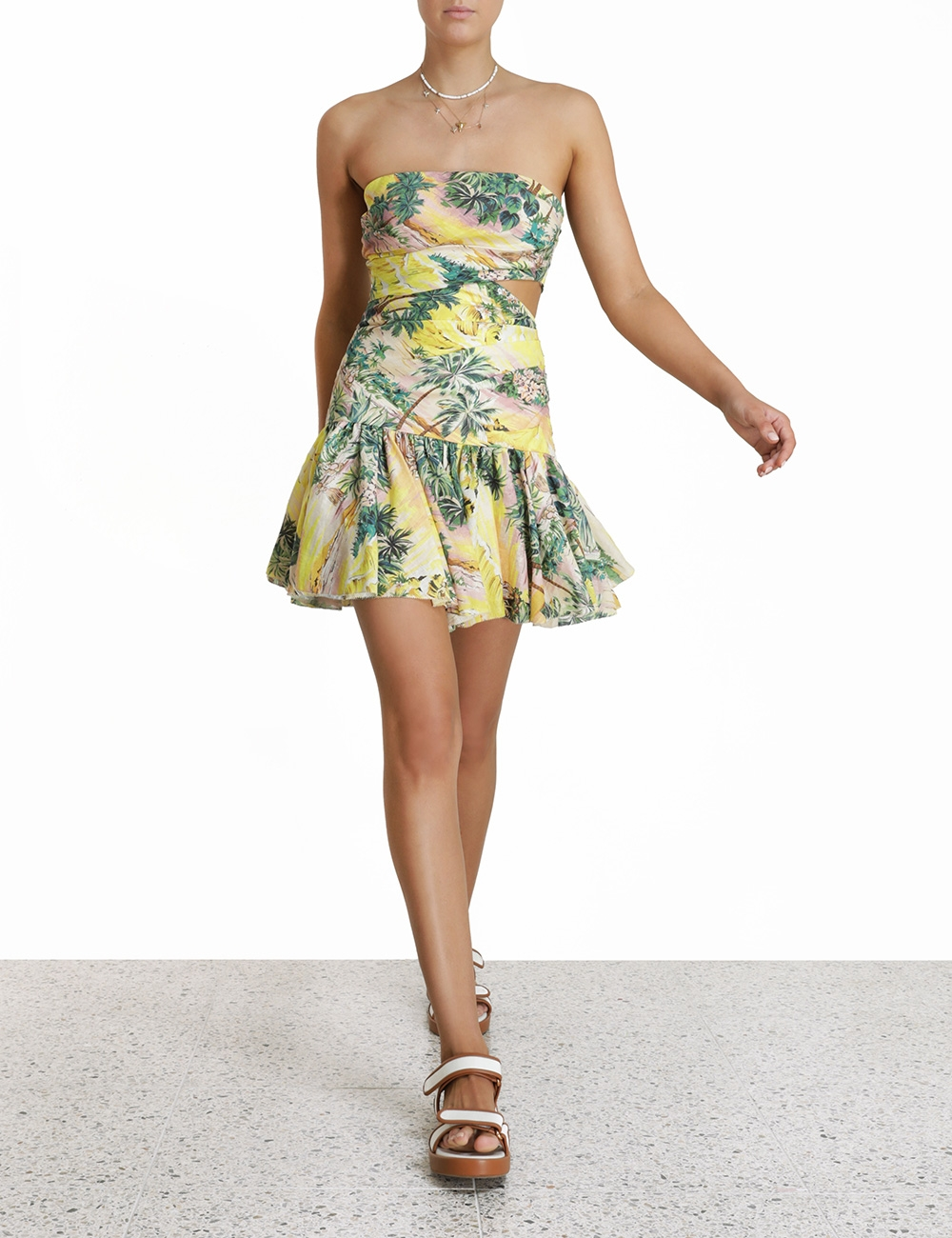 Juliette Cut Out Flip Dress