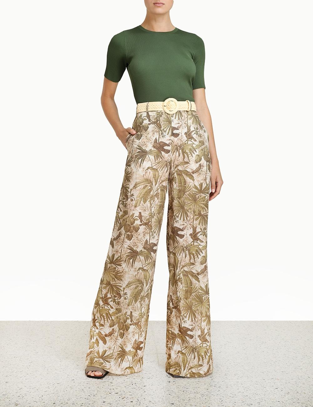 Poppy Knit Tee