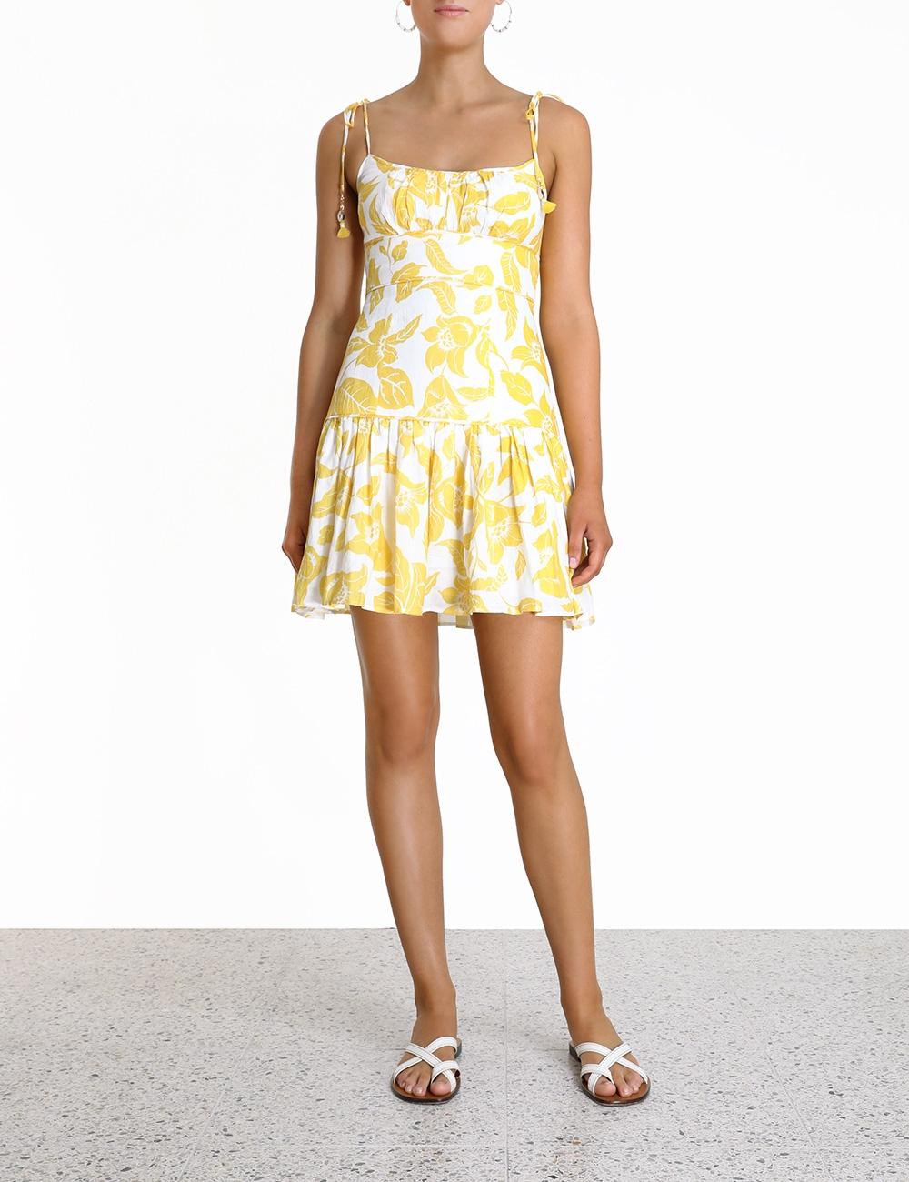Bells Fit Flare Mini Dress