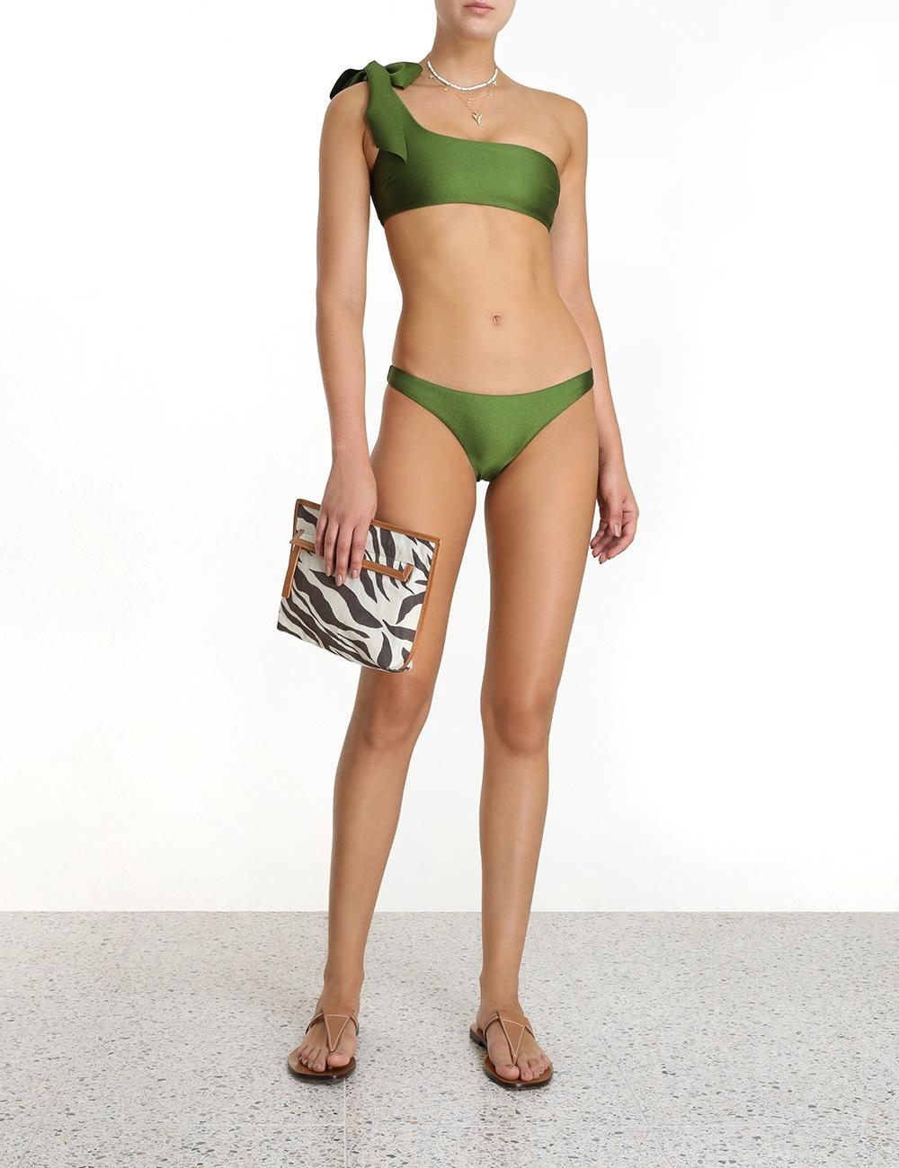 Empire Tie Shoulder Bikini