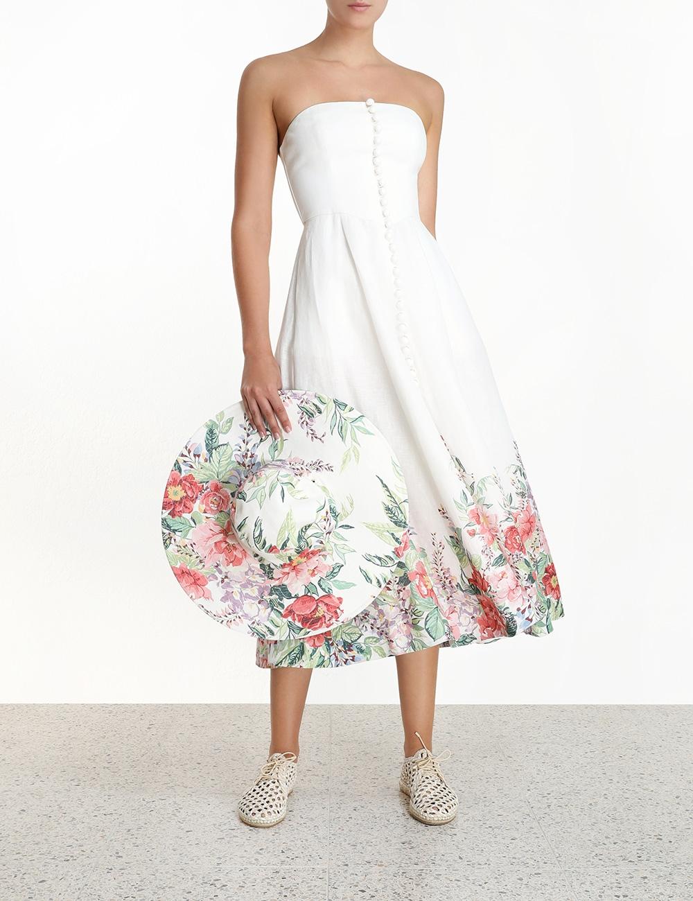 Bellitude Bustier Long Dress