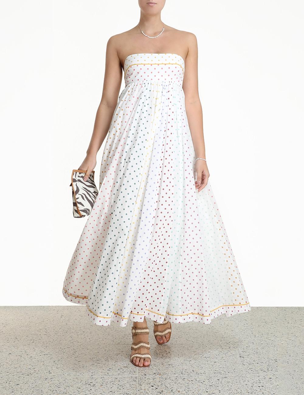 Bellitude Bandeau Midi Dress
