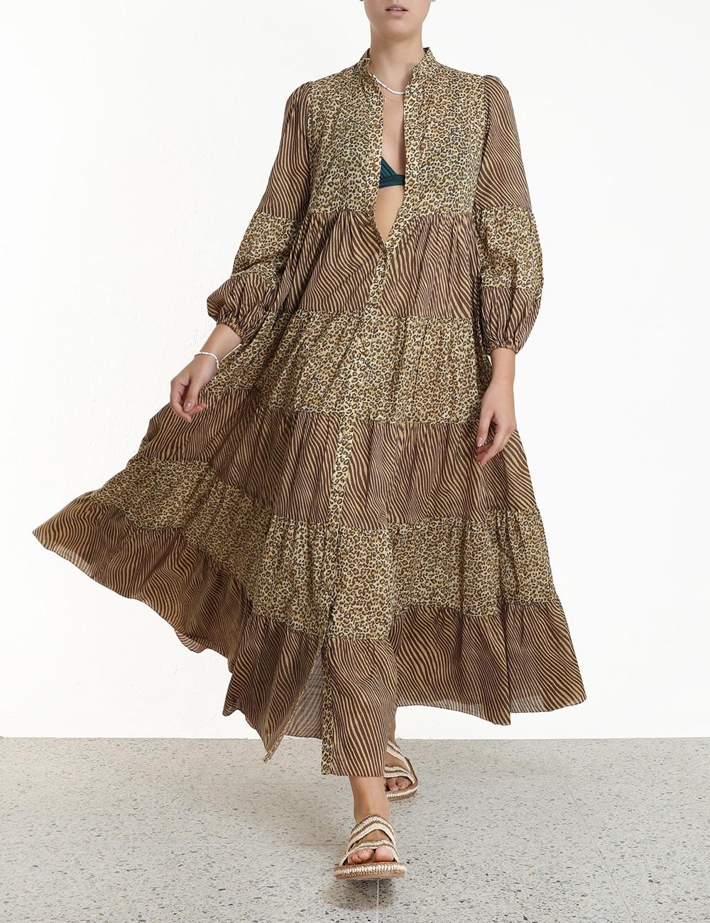 Empire Tiered Dress