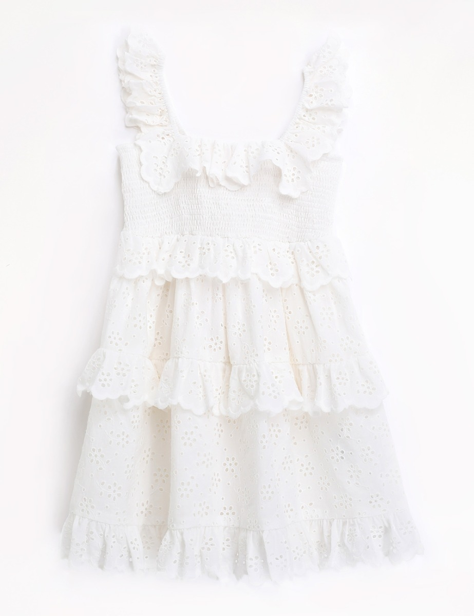 Bellitude Ruffle Tiered Dress