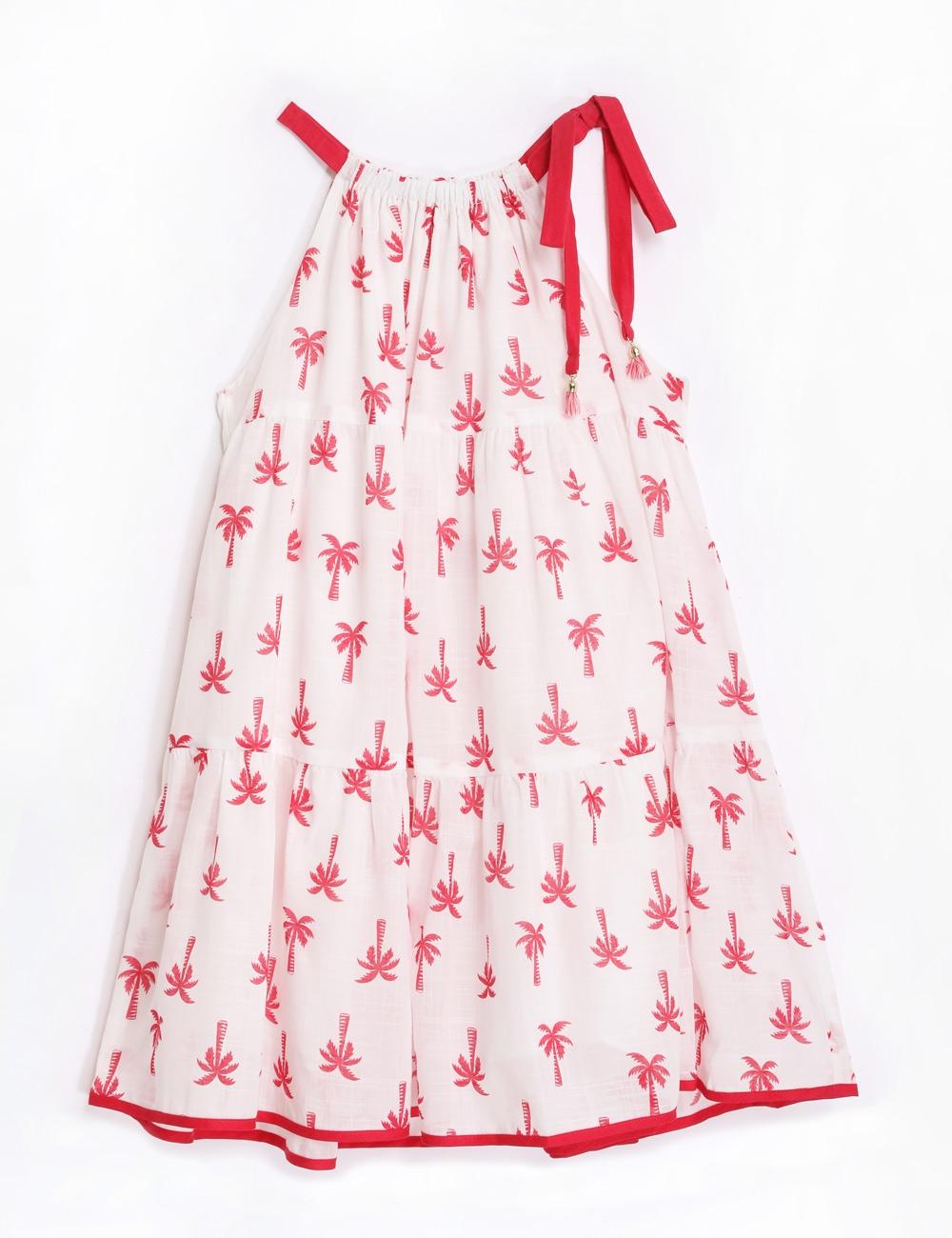 Juliette Halter Tie Dress