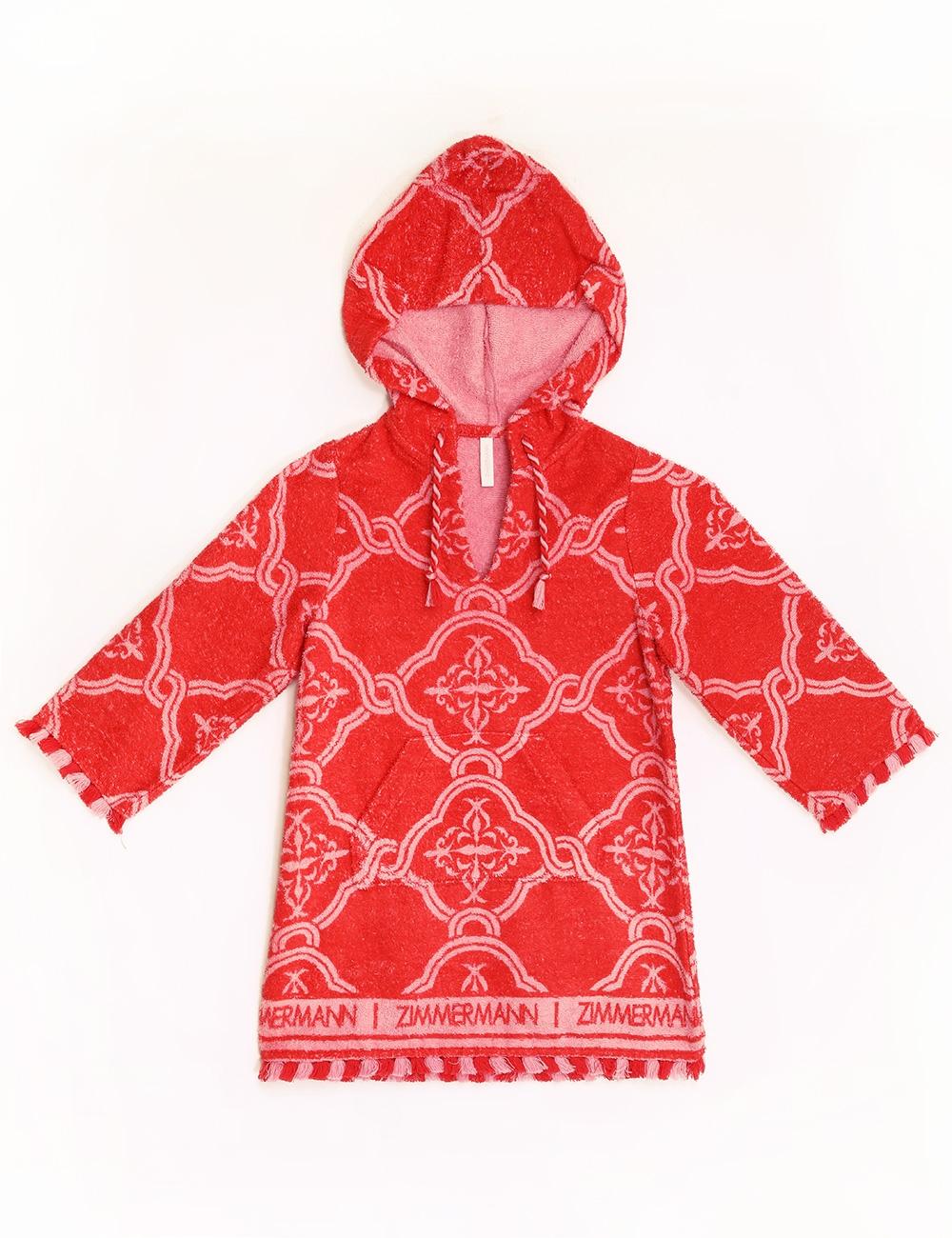 Poppy Hooded Terry Dress