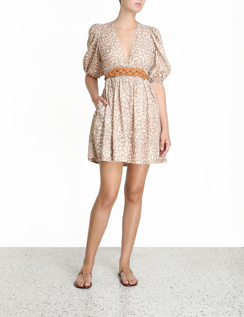 Carnaby Shirred Waist Dress