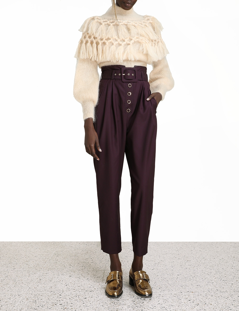 Ladybeetle Buttoned Pant
