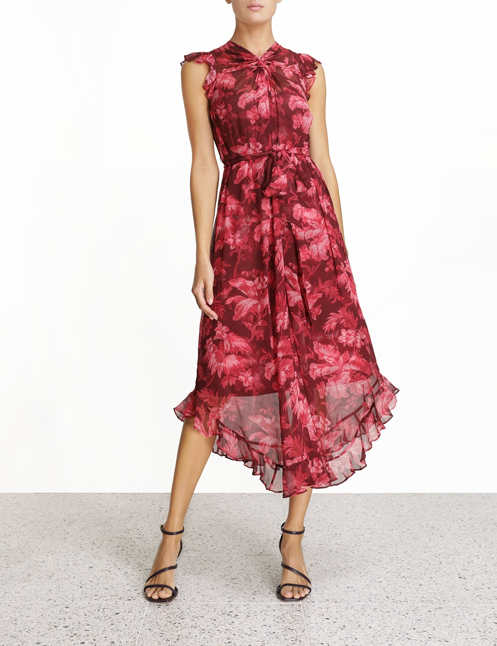 Ladybeetle Twist Flutter Dress