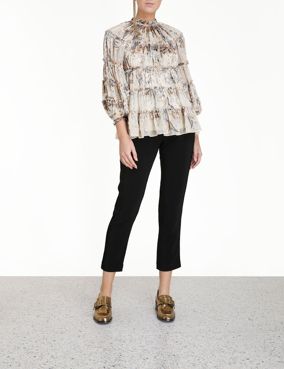 Ladybeetle Burnout Blouse