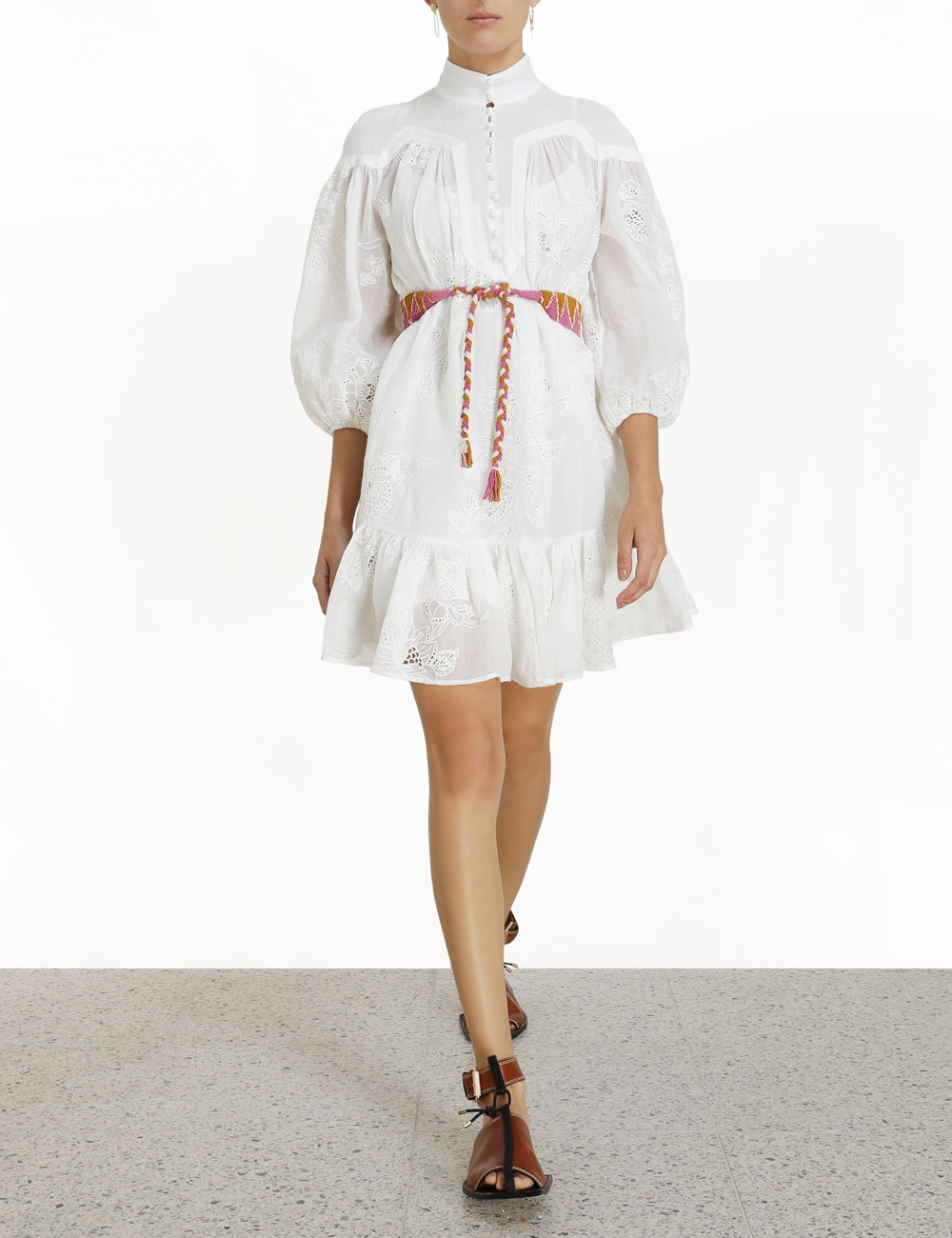 Riders Panelled Mini Dress