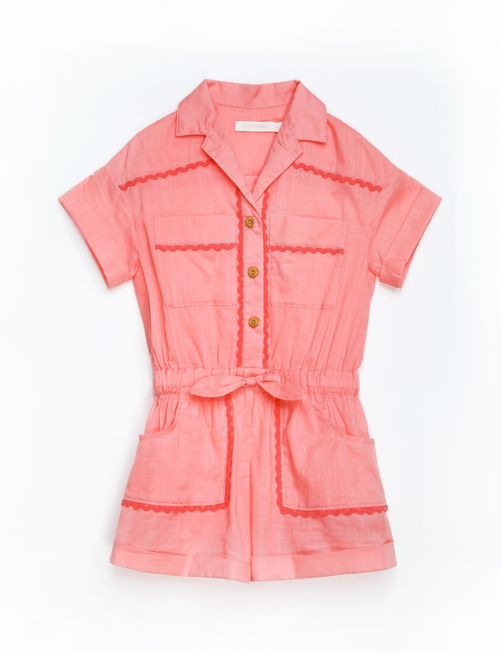 Poppy Pocket Detail Playsuit