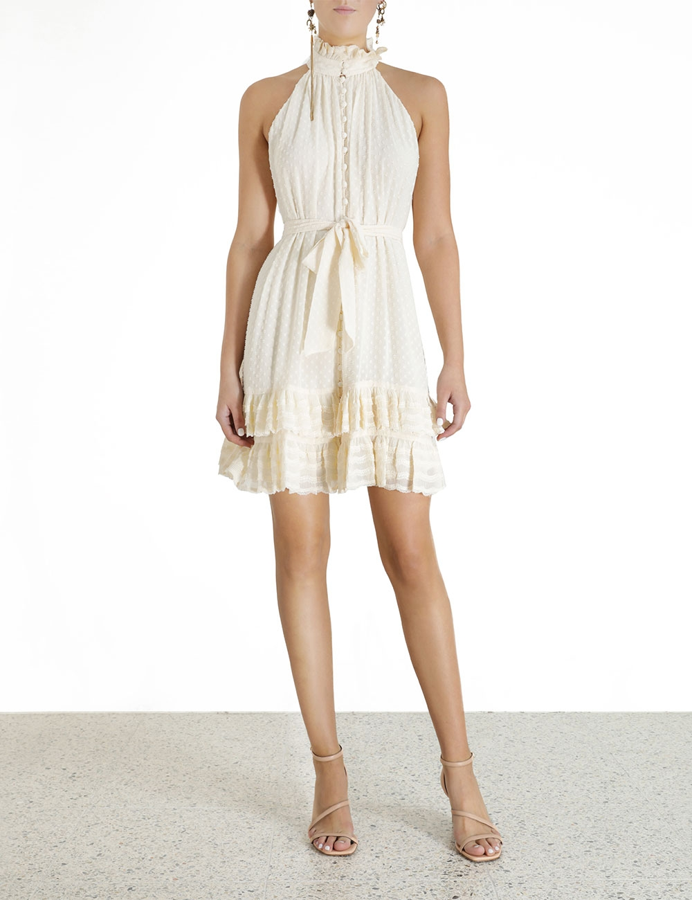 Pleated Lace Picnic Mini
