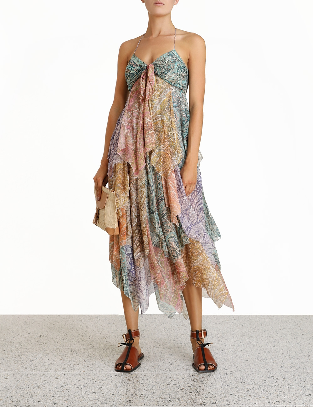 Brighton Hanky Hem Dress