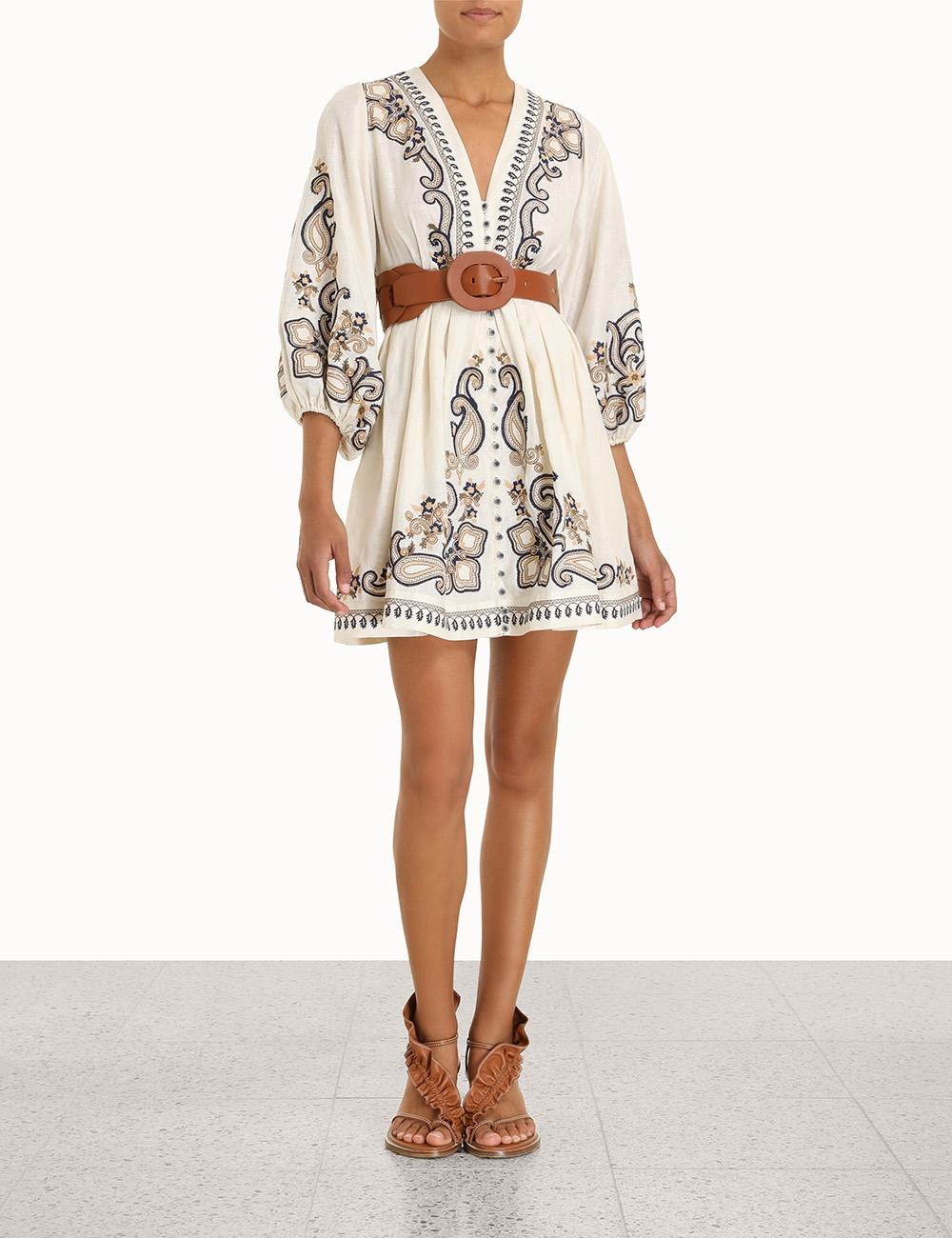 Aliane Paisley Short Dress