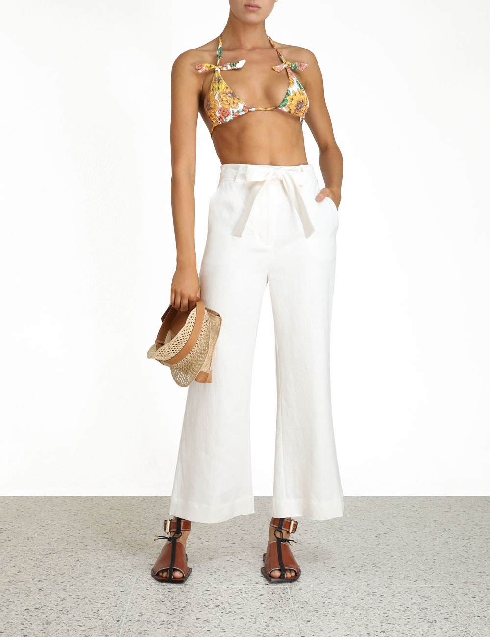 Poppy Crop Flare Pant