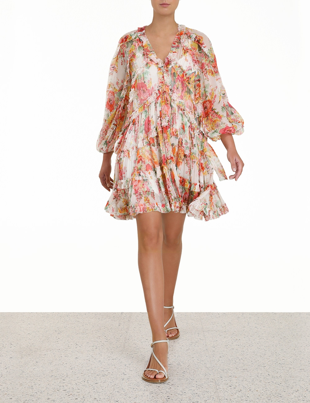 Mae Frill Billow Dress