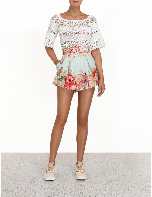 Cassia Crochet Top