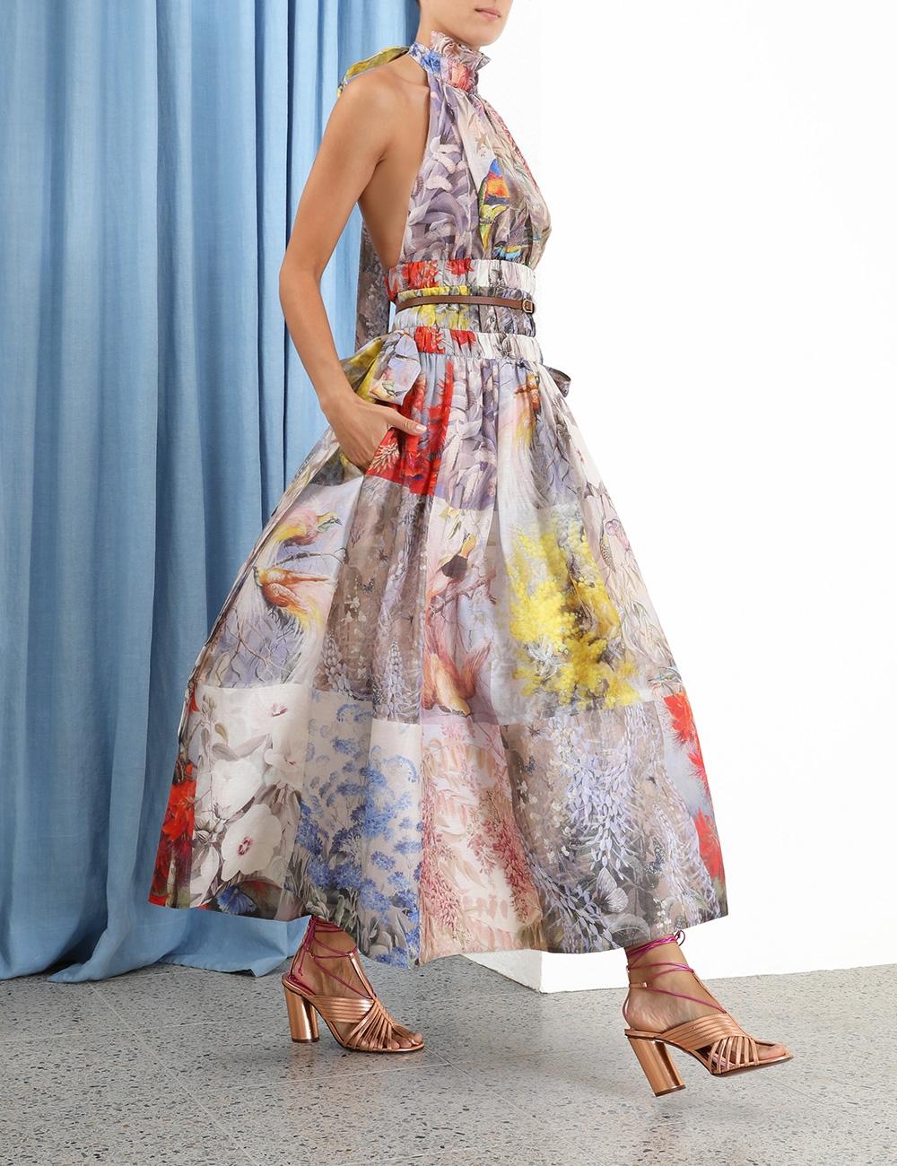 Botanica Halter Gown