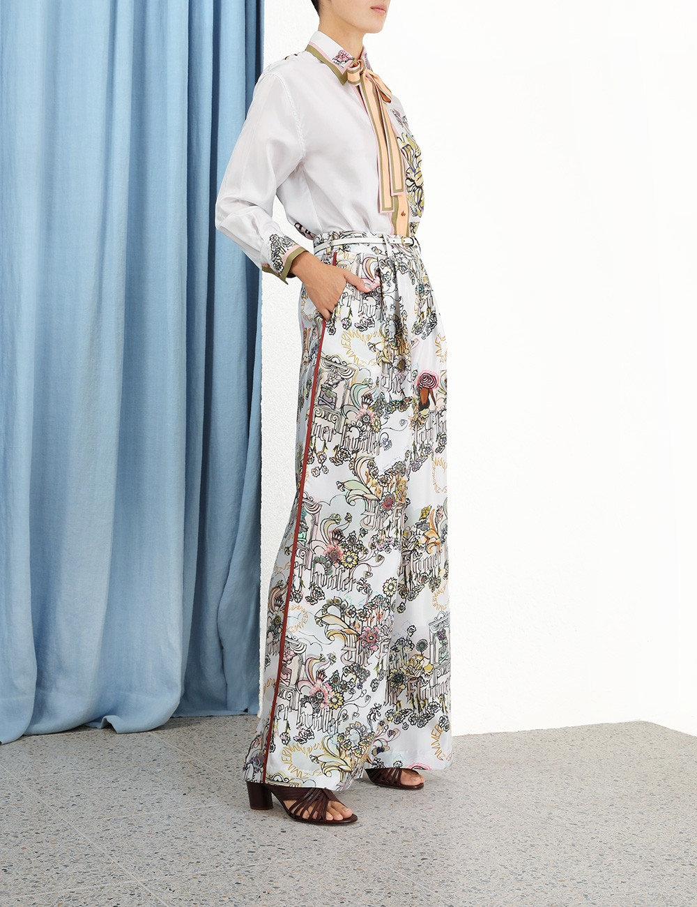 Botanica Wide Leg Trouser