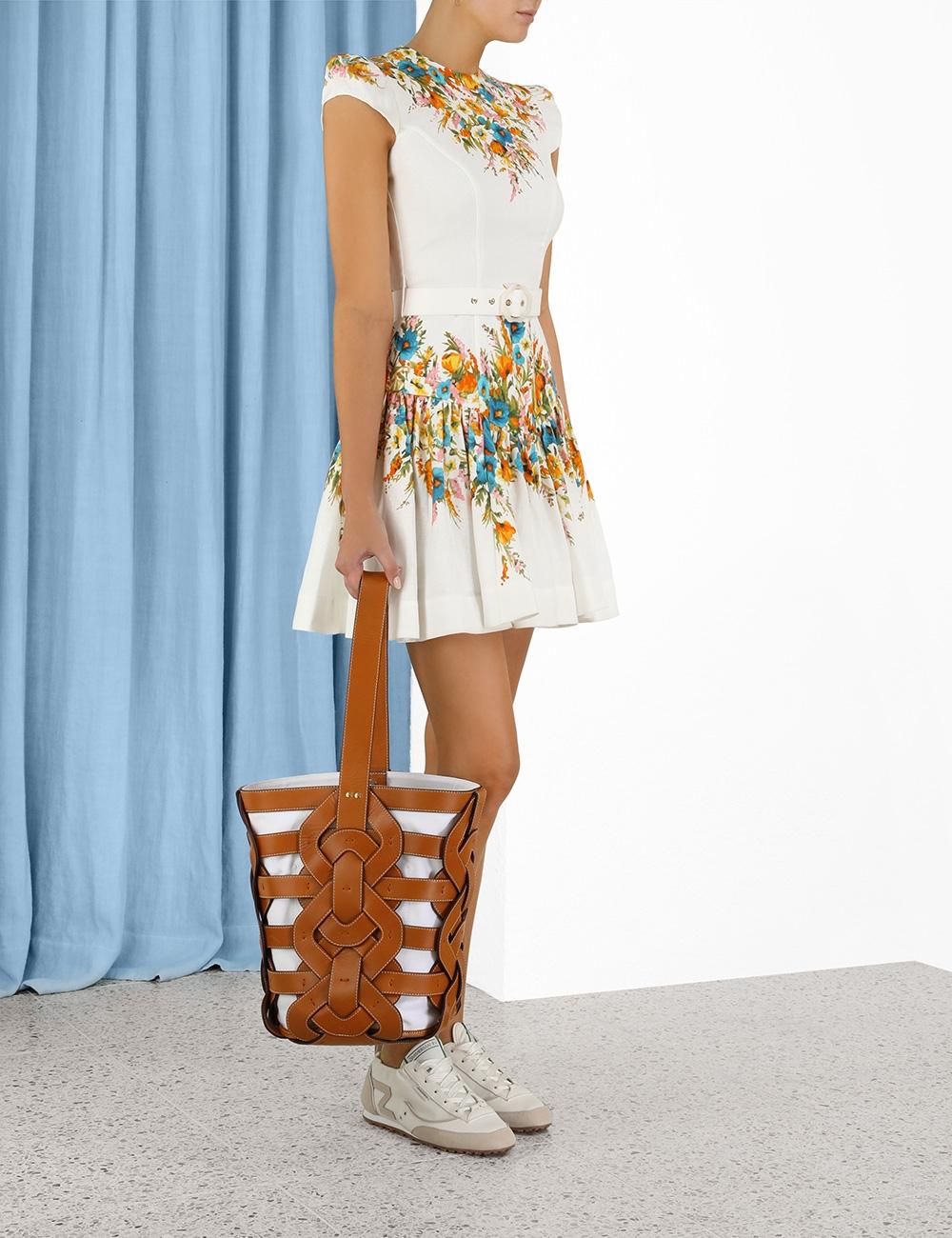 Estelle Tie Mini Dress