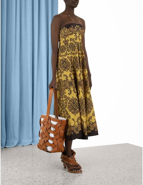 Nina Bandeau Midi Dress