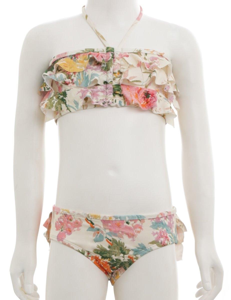Heathers Frill Bandeau Bikini