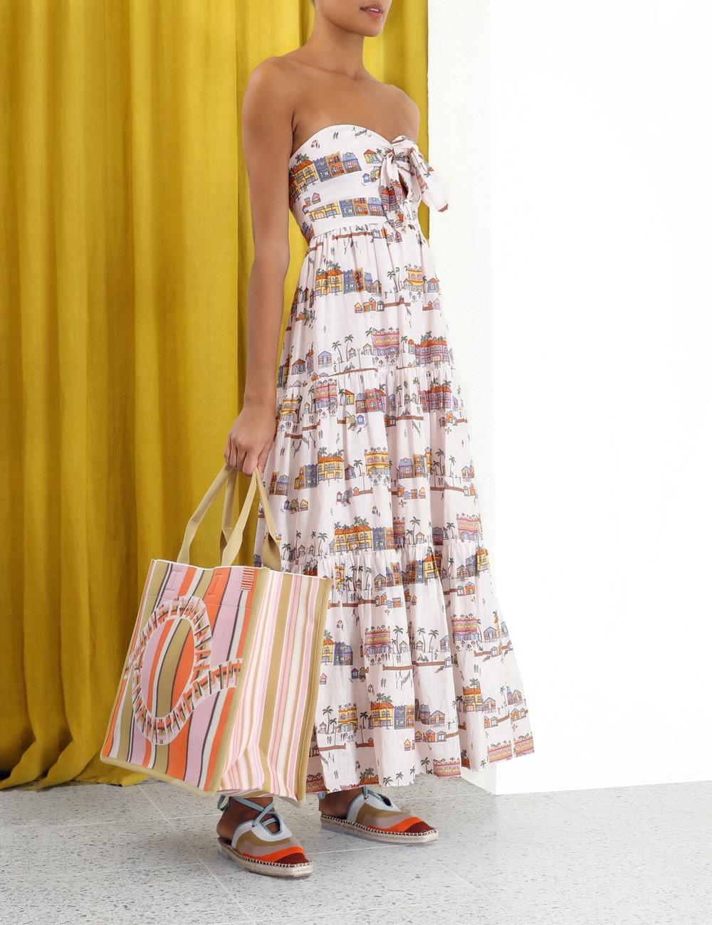 Mae Tie Front Dress