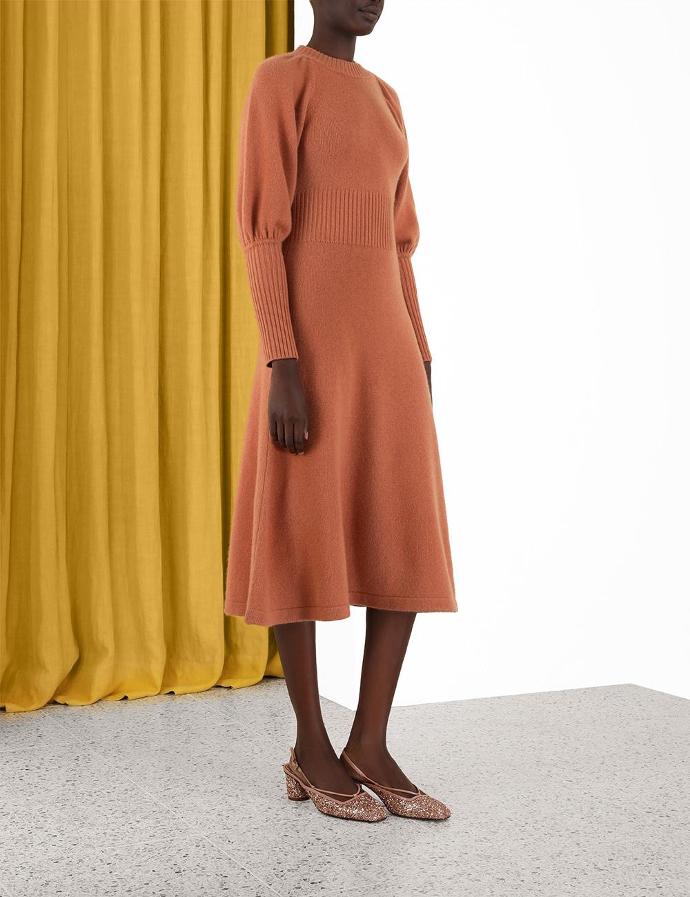 Cashmere Sweater Dress