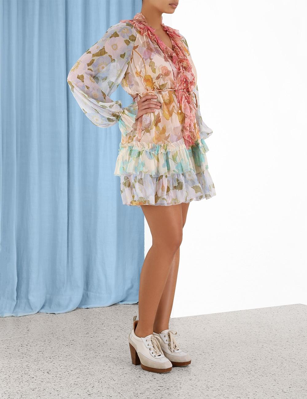 Tempo Frilled Mini Dress